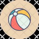 Ball Beach Play Icon