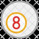 Ball Billiard Game Icon