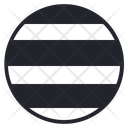 Ball Strip Rubber Icon
