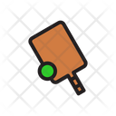 Cricket Game Equipment Icon