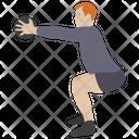 Ball Exercise Workout Aerobics Icon