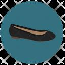 Ballerina Shoes Footwear Icon