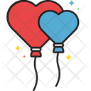 Ballon Heart Icon