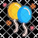 Ballons Balloon Decoration Icon