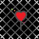 Ballons Heart Love Icon