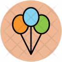 Balloon Party Decorations Icon