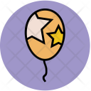 Balloon Party Birthday Icon