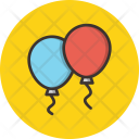 Balloon Celebration Icon