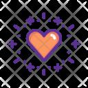 Balloon Love Heart Icon