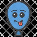 Tongue Out Balloon Balloon Emoji Balloon Face Icon