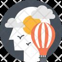 Balloon Air Discovery Icon
