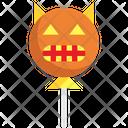 Devil Balloon Halloween Icon