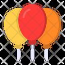 Balloon Celebration Party Icon