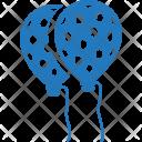 Balloon Birthday Celebration Icon