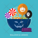Balloon Candies Cup Icon