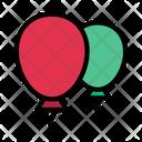 Balloon Fly Toy Icon