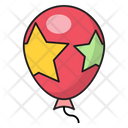 Balloon Party Decoration Icon