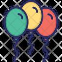 Balloon Party Celebration Icon