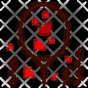 Balloon Celebration Heart Icon