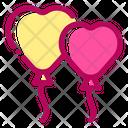 Balloon Decoration Marriage Icon