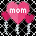 Balloon Mom Balloon Love Icon