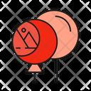 Balloon Logo Branding Icon