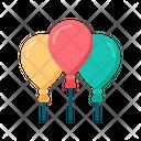 Balloon Balloons Party Icon