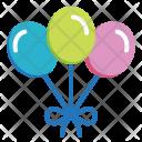 Balloon Party Birthday Icon