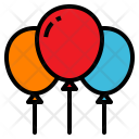 Balloon Party Park Icon