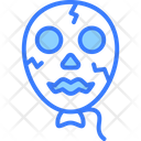 Balloon Ghost Monster Icon