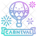 Balloon Label Party Icon