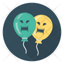 Balloon Scary Halloween Icon