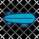 Balloon Airhisip Travel Airship Icon