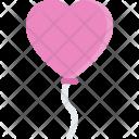 Balloon Couple Love Icon