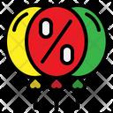 Balloon Discount Icon