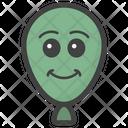 Balloon Emoji Balloon Face Emoticon Icon