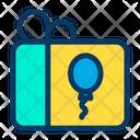 Balloon Gift Icon
