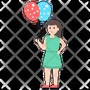Balloon Girl Icon