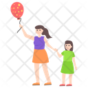 Balloon Girls Icon