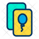 Balloon Invitation Icon
