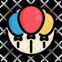 Balloons Birthday Party Icon