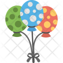 Balloons Mother Day Icon