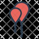 Bunting Balloon Celebration Icon