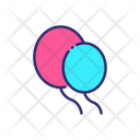 Balloons Celebration Birthday Celebration Icon