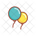 Balloons Toy Baby Play Icon