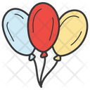 Balloons Party Decorations Party Balloon Icon