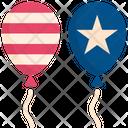 Balloon Celebration Usa Icon
