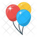 Balloon Party Balloon New Year Balloon Icon