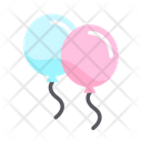 Balloons Play Baby Icon