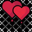 Balloons Heart Valentine Icon